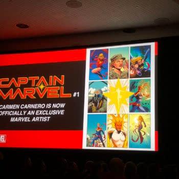 Carmen Carnero Announced as an Exclusive Marvel Comics Artist