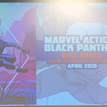 IDW Expands Marvel Action Line With Black Panther by Kyle Baker, Vita Ayala