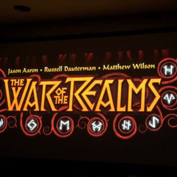 War Of The Realms From Jason Aaron, Russell Dauterman and Matthew Wilson Announced at NYCC,