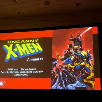 Theres a Whole Lotta Cyclops on Uncanny X-Men Annual #1 Cover Announced at NYCC