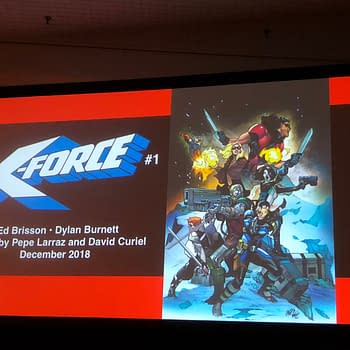 Ed Brisson Taking the Donald Trump Approach to X-Force Relaunch From NYCC