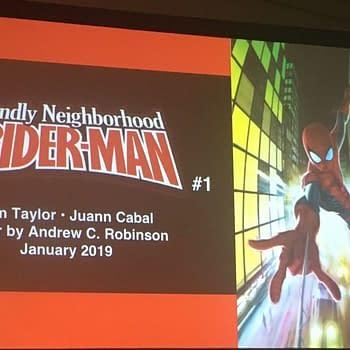 Tom Taylor Juann Cabal Revive Friendly Neighborhood Spider-Man for Marvel