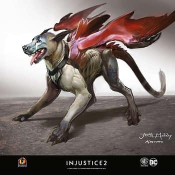 Freelance Artist Shows Off Rejected Injustice 2 Concept Art