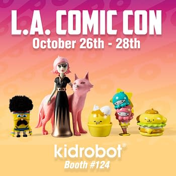 Kidrobot LA Comic Con Exclusives Include Spongebob Astra and Orbit and More