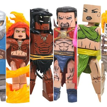 Avengers 1000000 BC Minimates Now Available at Walgreens