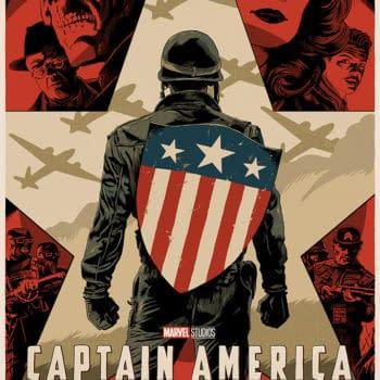 Mondo Marvel Studios Anniversary Captain America First Avenger by Francavilla