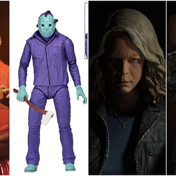 NECA Horror Halloween Announcements: Laurie Strode F13 Remake Jason NES Figures Return