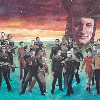 Four Generations of Star Trek Crossover in IDWs The Q Conflict
