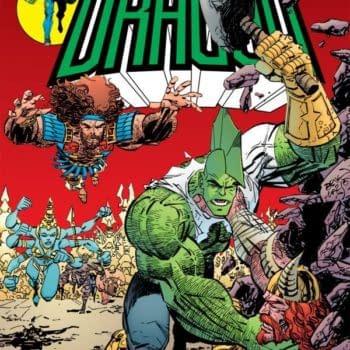 Erik Larsen Says Someone Stole the Original Cover Art to Savage Dragon #88 at NYCC