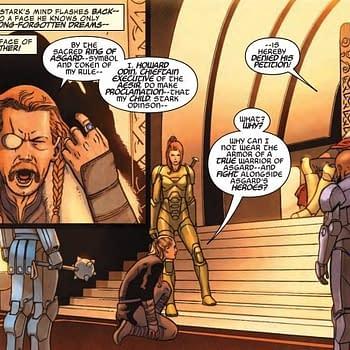 Infinity Warps Iron Hammer #2 Introduces Howard, Ruler of Asgard