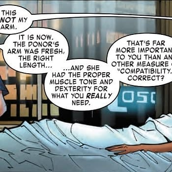Arno Stark with a Cure for Loneliness A Tony Stark Iron Man #5 Preview