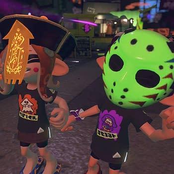 Splatoon 2 Releases Four Halloween Masks With Weird Abilities