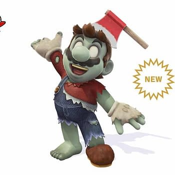 Super Mario Odyssey is Getting a Zombie Mario Costume