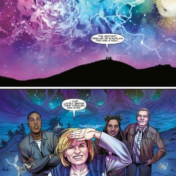 4 Pages From Next Week's Doctor Who: The Thirteenth Doctor #1