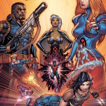 Scott Williams Draws 2 of 18 Feet for Uncanny X-Men Variant