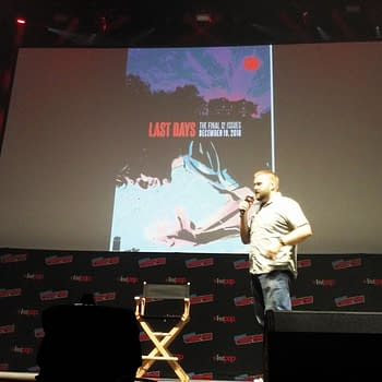 Robert Kirkman on The Walking Dead Outcast and Invincible Series at NYCC