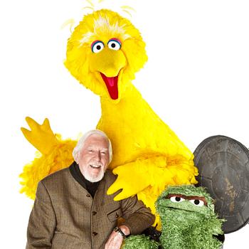 Original Sesame Street Big Bird Oscar the Grouch Puppeteer Caroll Spinney Retiring