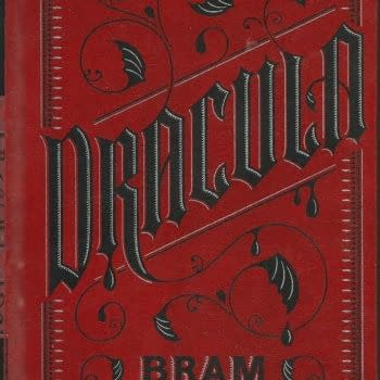 A look at the cover to Bram Stoker's Dracula.