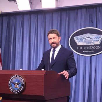 The Pentagon Unleashes Gerard Butler on the Washington Press Corps