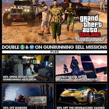 Grand Theft Auto Online is Buffing Gunrunning This Week
