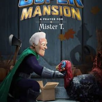 Sony Releases New Key Art and Trailer for SuperMansion's Thanksgiving Special at NYCC