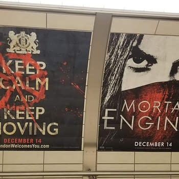 3 Character Posters and 2 Pieces of Key Art from Mortal Engines
