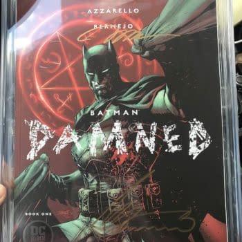 Batman Damned Now Sells For $2500 on eBay