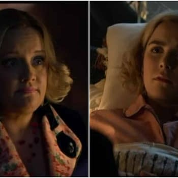 In New Chilling Adventures of Sabrina Clip Aunt Hilda Shares Her Fiery Regrets