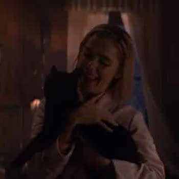 """Sabrina Meets a """"Familiar"""" Face in Netflix's New 'Chilling Adventures' Clip"""