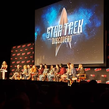 Star Trek Discovery Panel: A New Trailer Hairy Klingons and revisiting The Cage