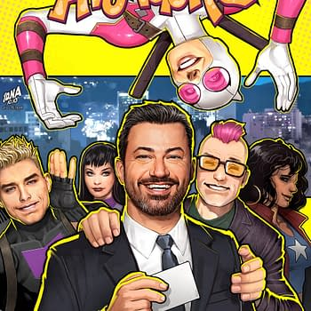 Jimmy Kimmel to Appear in West Coast Avengers #4 and On David Nakayama Variant