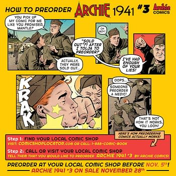 The Severe Punishment for Forgetting to Pre-Order Comics Revealed in This Preview for Archie 1941 #3