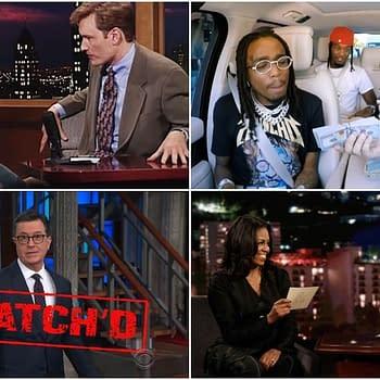 Remembering Stan Lee Migos Carpool Karaoke and Time Travel Sasquatch Adventures with Colbert (BCs Late-Night Rewind)