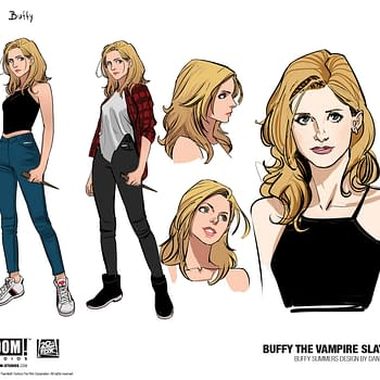 Dan Moras Buffy the Vampire Slayer Designs for Buffy Willow Xander Giles Spike Drusilla and Anya