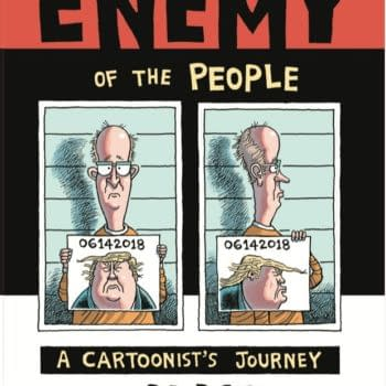 """IDW Gets Political With """"Enemy of the People"""" by Fired Cartoonist Rob Rogers"""