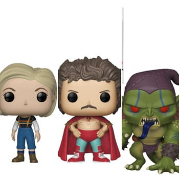 Funko Round-Up: Nacho Libre Dirty Dancing Spider-Verse Doctor Who and More