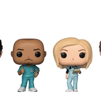 Scrubs Funko Pops Hit Stores in January