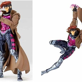 Gambit Amazing Yamaguchi Revoltech Figure Coming Spring 2019