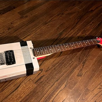 Someone Turned Nintendos NES Into a Playable Guitar