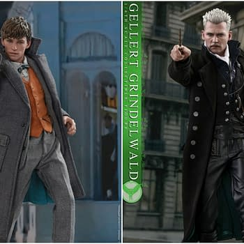 Fantastic Beasts Hot Toys Newt Scamander and Gellert Grindelwald Coming in 2019