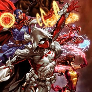 Mark Brooks Draws Infinity Warps for Infinity Wars #6 Variant