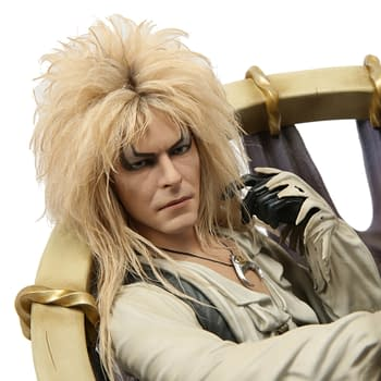 Bowie Lives on in New Labyrinth Jareth Statue From Chronicle