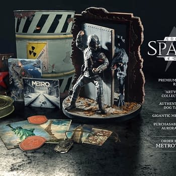 Metro Exodus Spartan Collectors Edition Details Revealed