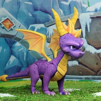 NECA Reveals Their First Spyro The Dragon Figure Coming 2019
