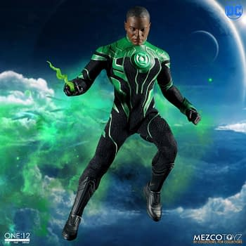 Green Lantern John Stewart Joins the Mezco One:12 Collective Line
