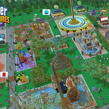 Atari Announces RollerCoaster Tycoon Adventures for Switch