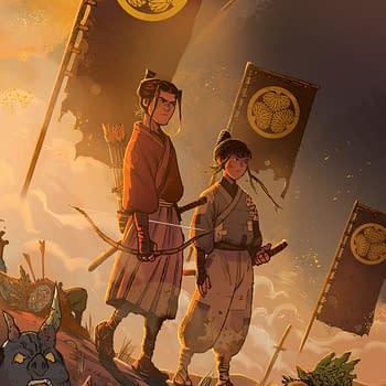 Pak and Milonogiannis  Explore Post-Apocalyptic Samurai in Ronin Island in March