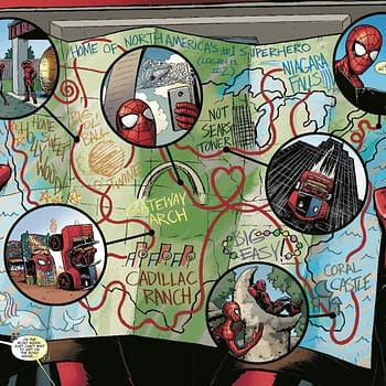 Mapping Out a Road Trip for Next Weeks Spider-Man/Deadpool #41