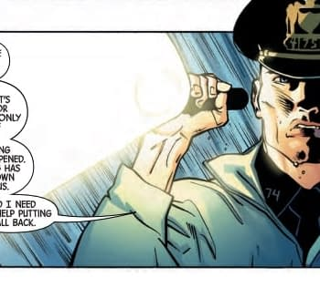 Punisher Cop Reveals Someone Has Rebooted the Marvel Universe in Next Weeks Marvel Knights #1