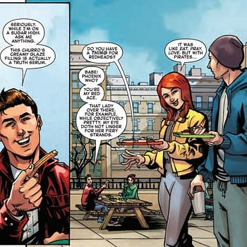Spider-Man Discusses His Thing for Redheads in Next Weeks Iceman #3